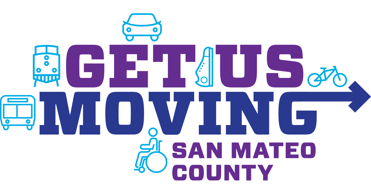 Get Us moving san mateo county logo