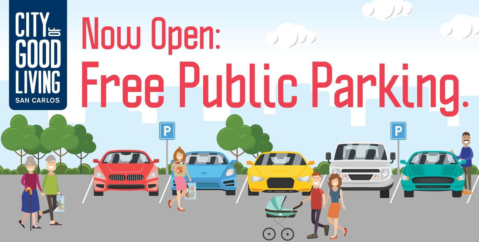 Free Public Parking at Wheeler Plaza Now Open!
