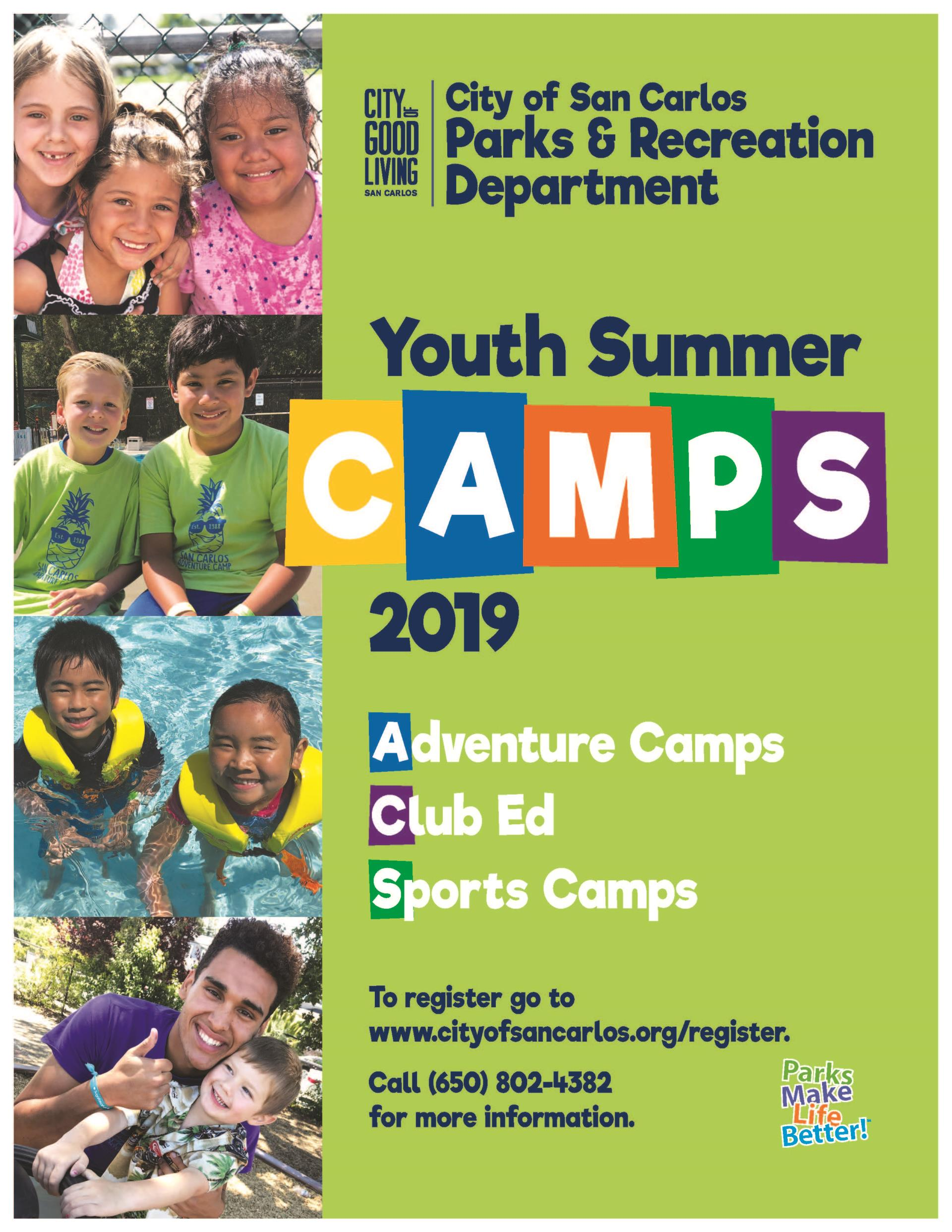 Summer Camps Now Viewable Online